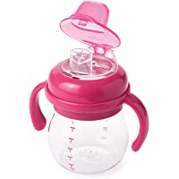 OXO TOT Sippy Cup with Removable Handles - 6oz, Pink