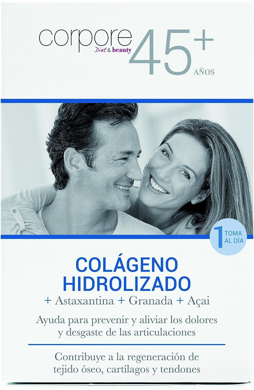 Corpore+45 Sobres de Colágeno Hidrolizado - 15 Unidades: Amazon.es ...
