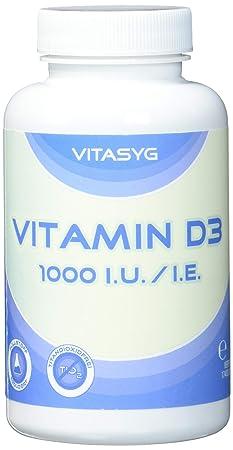 Vitasyg Vitamin D3 1000 i.E. / i.U. 500 Tabletten, 1er Pack (1 x 100 g)