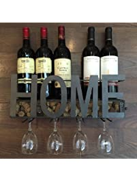 Shop Amazon Com Wall Mounted Wine Racks