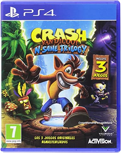 Crash Bandicoot N.Sane Trilogy - PlayStation 4: Amazon.es: Videojuegos