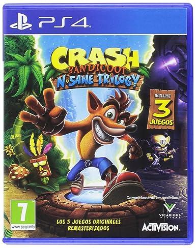 Crash Bandicoot N.Sane Trilogy - PlayStation 4: Amazon.es ...