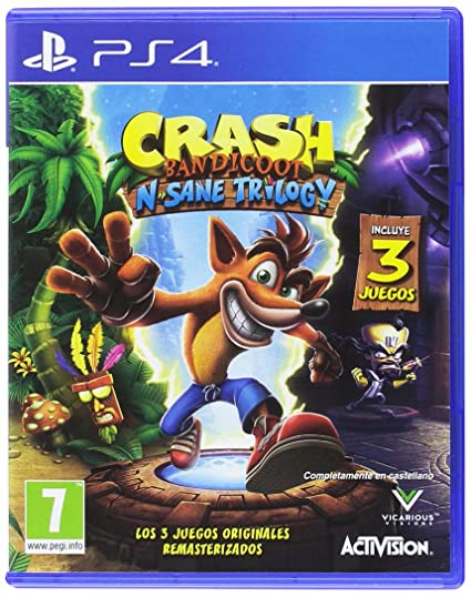Crash Bandicoot N Sane Trilogy Playstation 4 Amazon Es Videojuegos