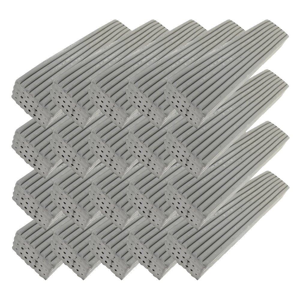 Newplast 500g Grey (Plasticine Alternative) Animators Choice 20pk - (20 x 500g Bars) Newclay ( MB Fibreglass )