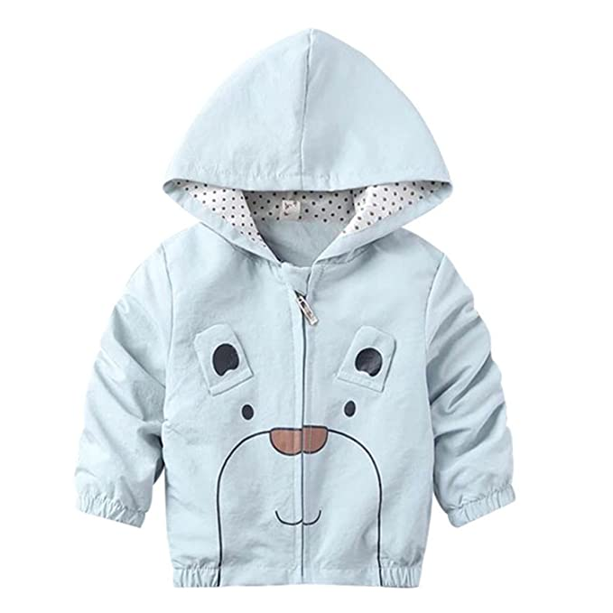 95428b3e8 Amazon.com  Samuel Roussel Spring Autumn Cute Girls Boys Coat Jacket ...