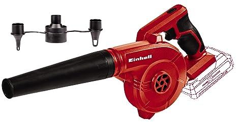 Einhell TE-CB 18/78 Li-Solo Soplador Inalámbrico, 0 W, 18 V, Negro/Rojo, Sin Batería