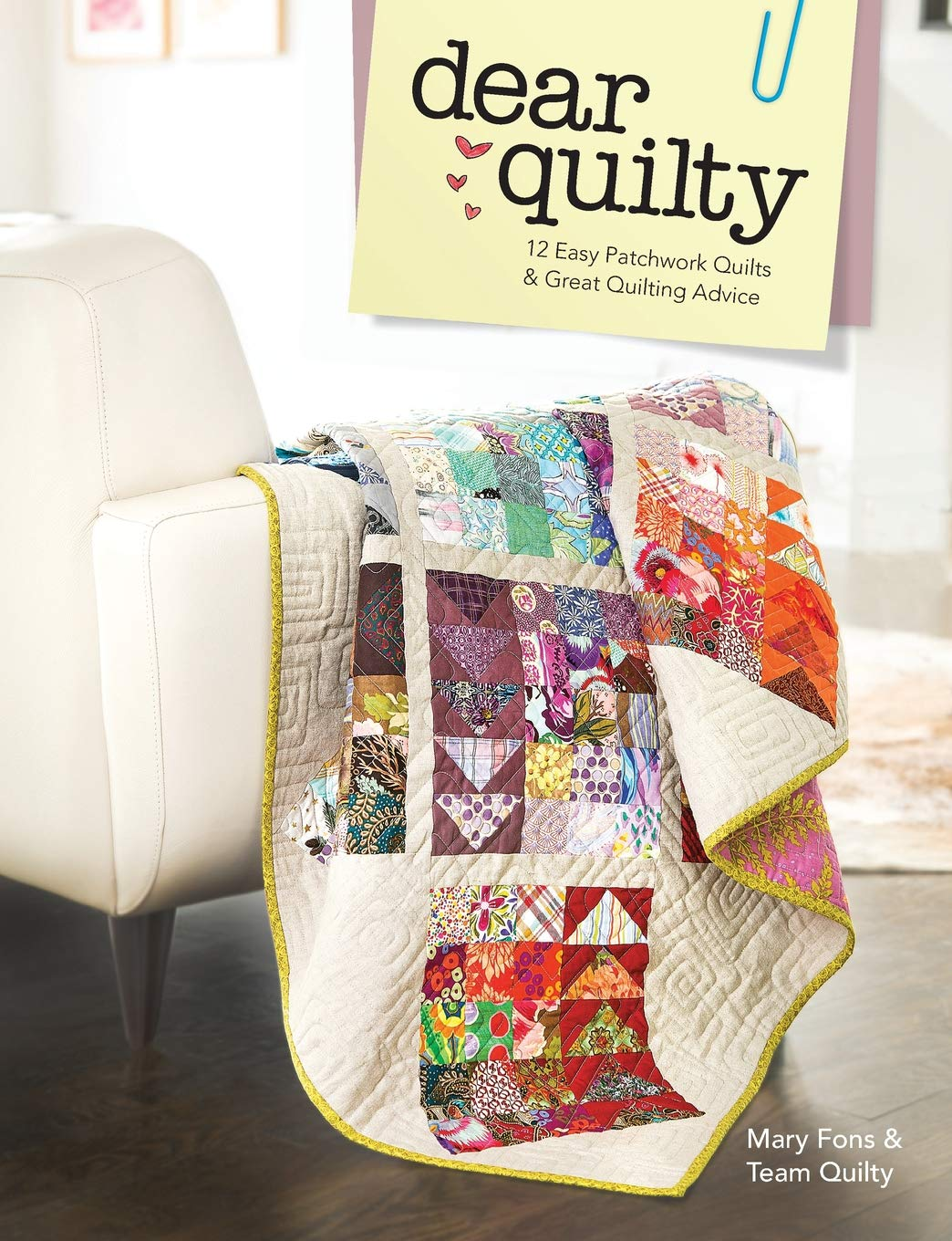 """Pink Quilted Cushion Kit Quilting Project Ideal For Beginners 18/"""" x 18/"""" Sew Easy"""