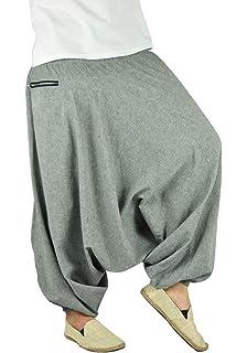 virblatt pantalones bombachos de yoga muy cómodos y de corte profundo como ropa hippie y pantalones