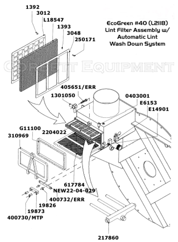 Lint Door/Button Trap Door Gasket 14 X 7 1/4 BLK FOR FIRBIMATIC, UNION, REALSTAR DRYCLEANING MACHINES G11100   #403144