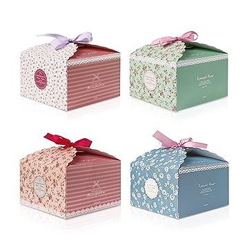 Amazon ALLOMN 40pcs Paper Gift Box Decorative Treats Boxes Gorgeous Decorative Candy Boxes