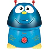 Crane USA Cool Mist Humidifiers for Kids, Blue Monster