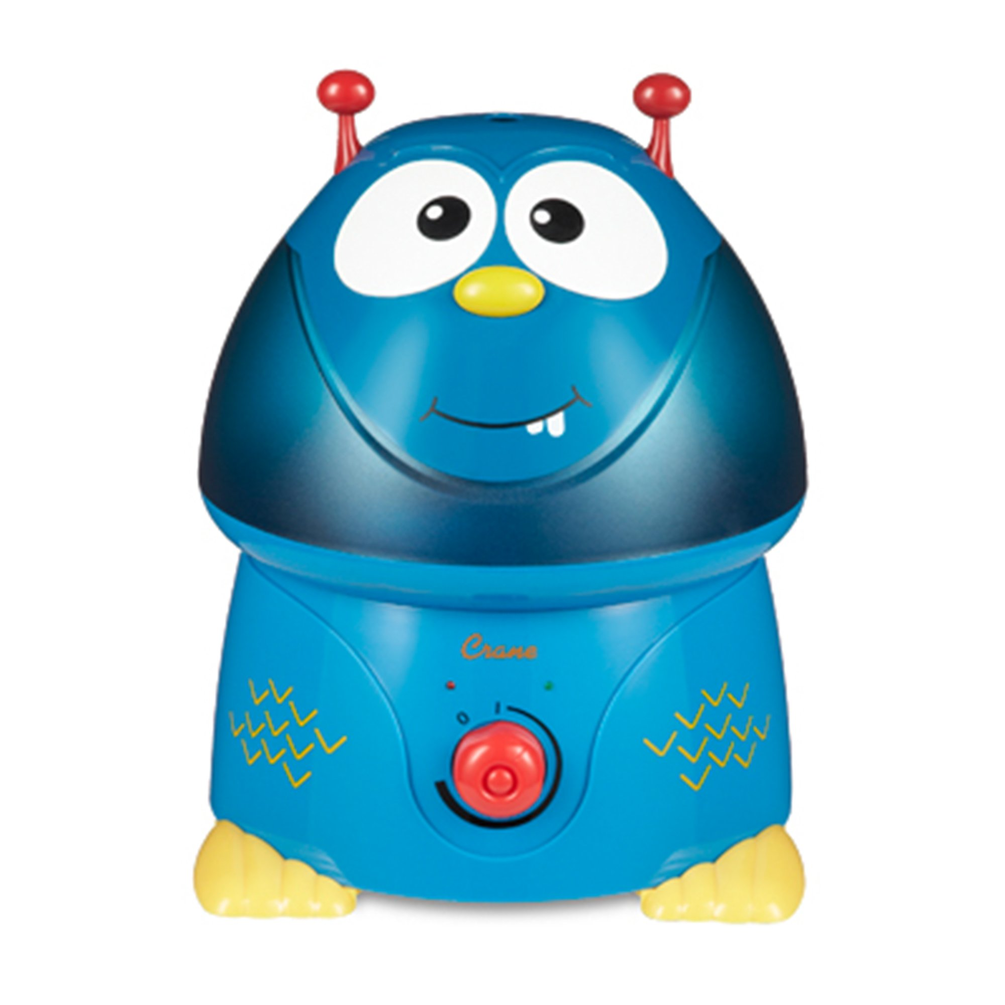 Crane USA Filter-Free Cool Mist Humidifiers for Kids, Blue Monster
