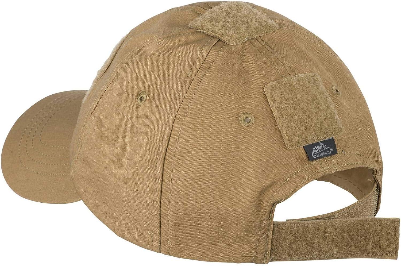 Helikon Mens Tex Tactical BBC Cap-Cotton Ripstop-Khaki