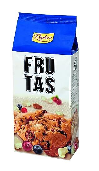 Reglero Cookies Frutas - Paquete de 18 x 200 gr - Total: 3600 gr