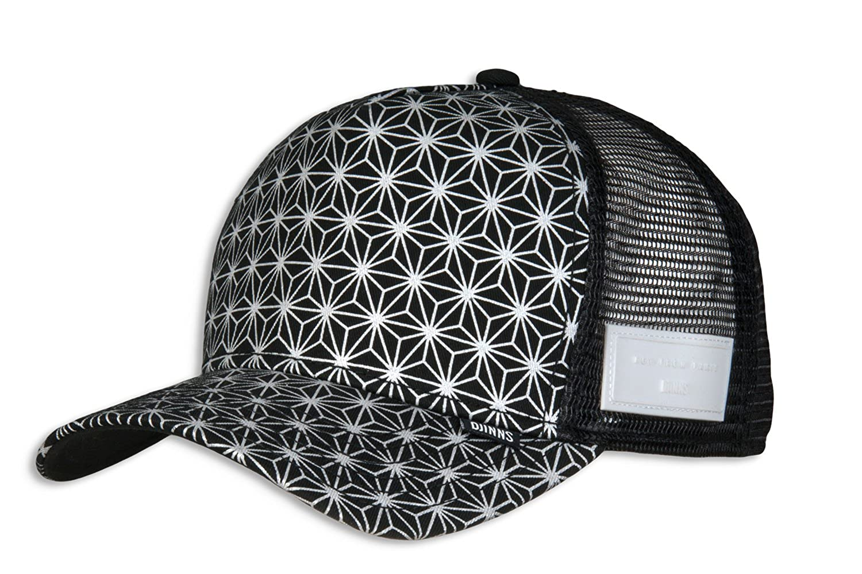 fd98d9db419 Djinns Men Caps/Trucker Cap Non Paris High Fitted Black Adjustable:  Amazon.co.uk: Clothing
