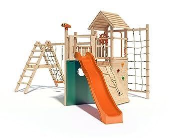 Klettergerüst Isidor : Isidor holzbau kon tiki neo spielturm kletterturm baumhaus mit