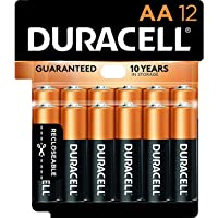 CopperTop AA Alkaline Batteries - Long Lasting, All-Purpose Double A Battery for Household and Business - 12 Count