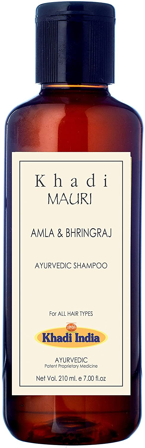 Khadi Mauri Herbals Amla and Bhringraj Herbal Shampoo