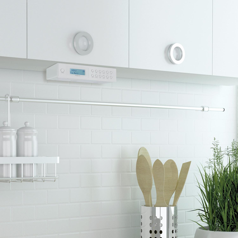 OneConcept KR-120 Küchenradio Unterbau Digitalradio mit DAB Plus ...