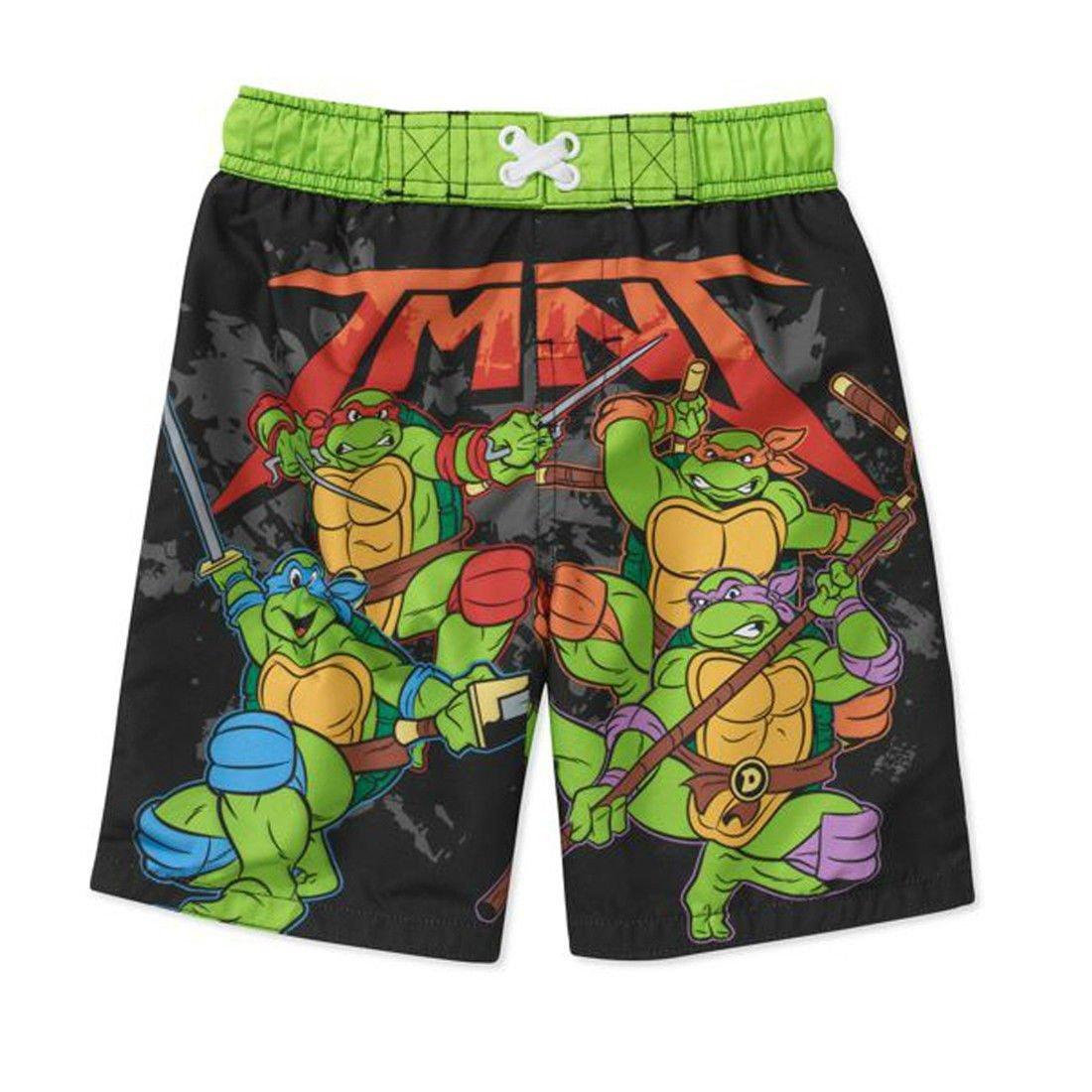 Nickelodeon Teenage Mutant Ninja Turtles Swim Trunks Swim Shorts Little Boys' Size 3T