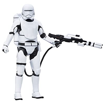 Star Wars The Black Series 6-Inch First Order Flametrooper: Toys & Games