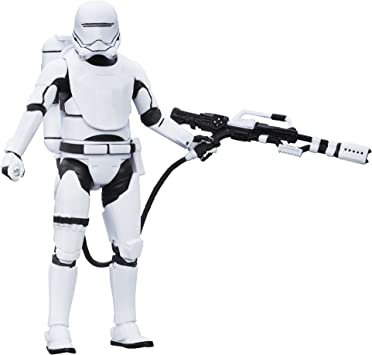 Star Wars B5892 Schwarze Serie #16 First Order Flametrooper 15cm Figur Kinder