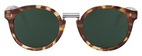 MR.BOHO, High-Contrast tortoise fitzroy with classical lenses - Gafas De Sol unisex multicolor (care...