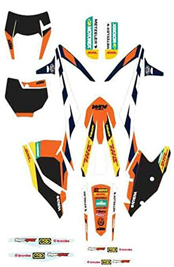 2018 ktm xcf 250. simple 250 factory graphics kit ktm 250 300 350 450 500 sxf xcf exc 20162018  79408990000 inside 2018 ktm xcf