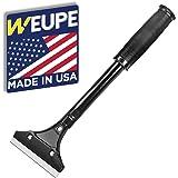 WEUPE Razor Blade Scraper: Wallpaper Remover, Wall Paint Scraper, Adhesive Remover, Wall Stripper - 4-inch Heavy Duty…