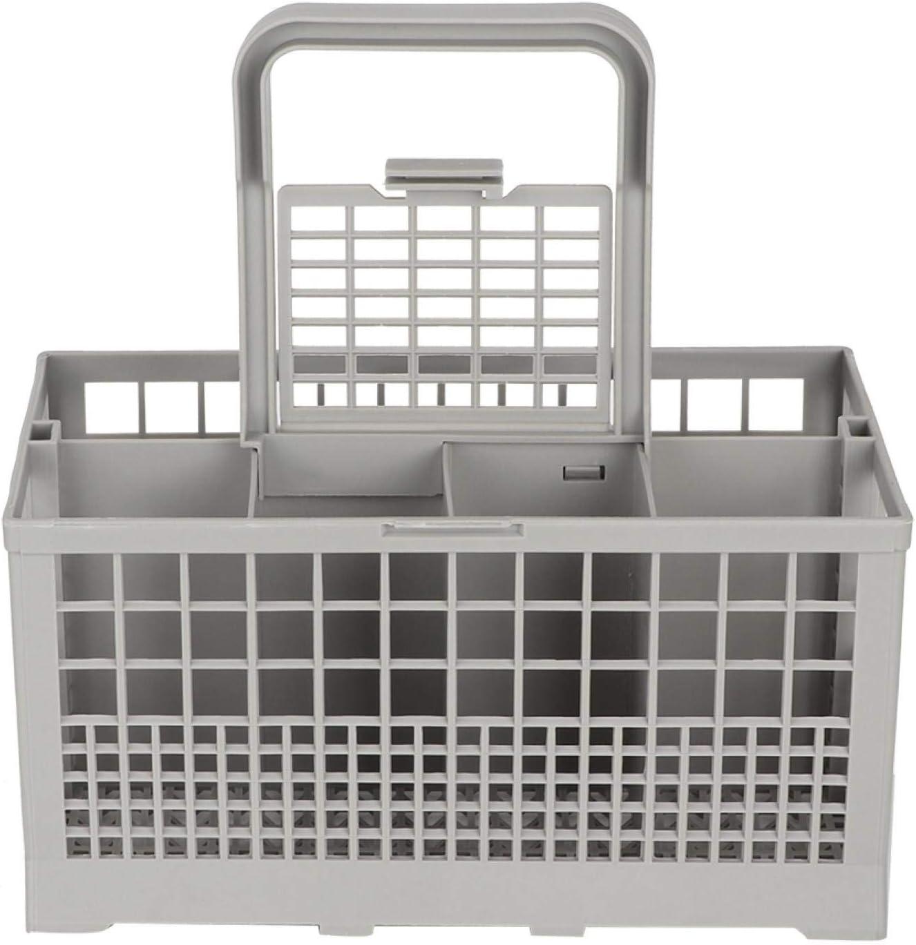 Cesta de repuesto universal para cubiertos, utensilios y cubiertos, compatible con Bosch, Maytag, Kenmore, Whirlpool, KitchenAid, LG, Samsung, Frigidaire, GE