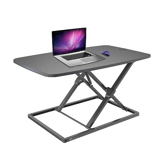 hjh OFFICE 802100 tabla adicional para escritorios VM-SA negro ...