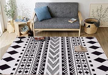 Amazon.de: LMX Teppich Nordic Style Teppich Wohnzimmer / Schlafzimmer  Komplettes Geschäft /