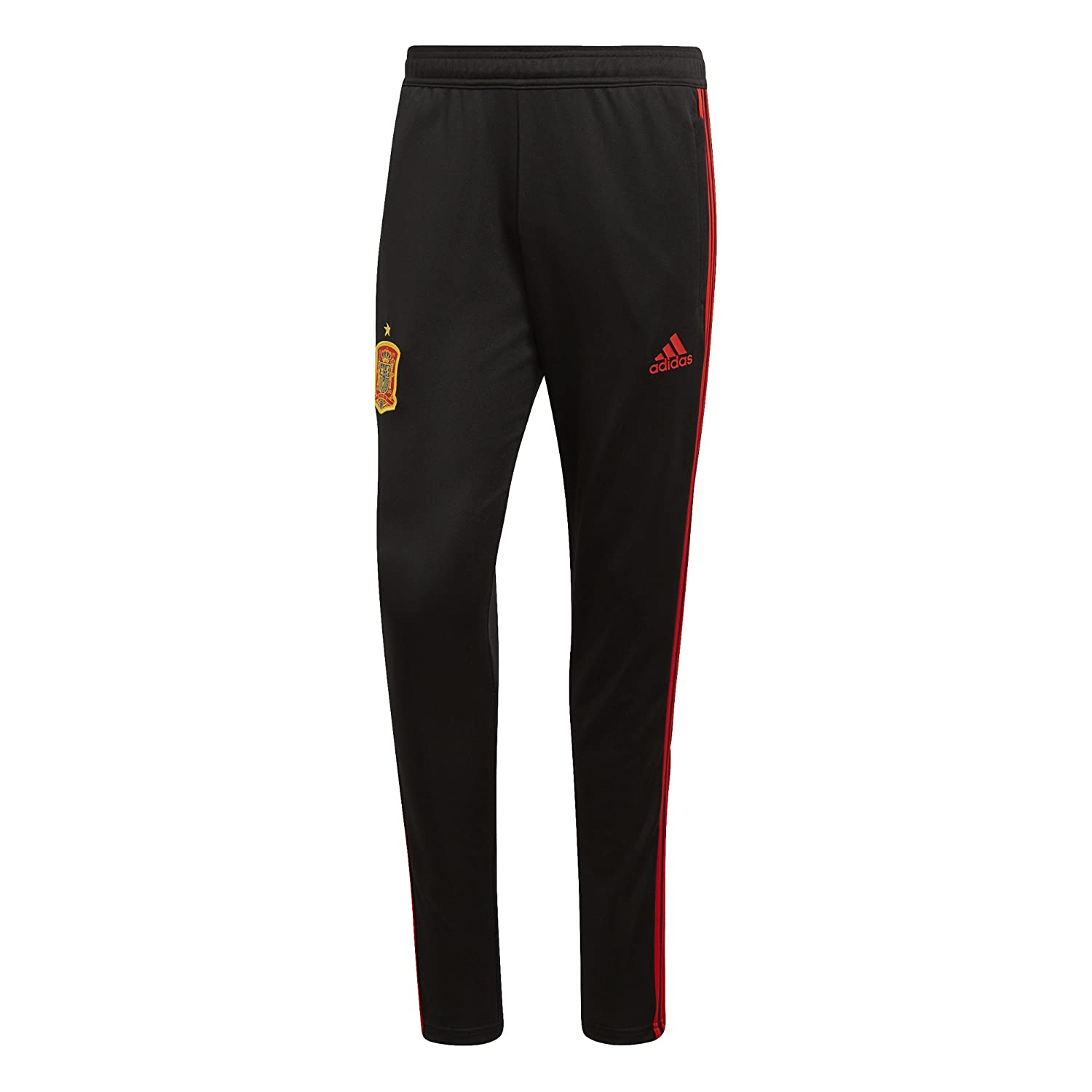 2018-2019 Spain Adidas Training Pants (Black) B077NSTBM1 Large 36