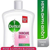 Dettol Skincare Anti-Bacterial Liquid Hand Wash 1000ml