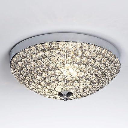SUNA LED Lámpara De Techo De Cristal Minimalista Moderna Sala De ...