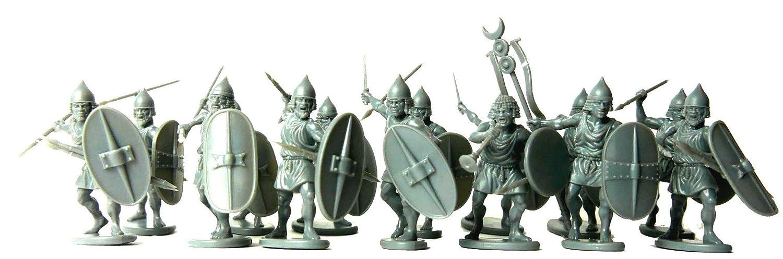 28mm Plastic Miniatures Numidian Infantry Unbekannt Victrix VXA024 24 Figure Set Warrior of Antiquity