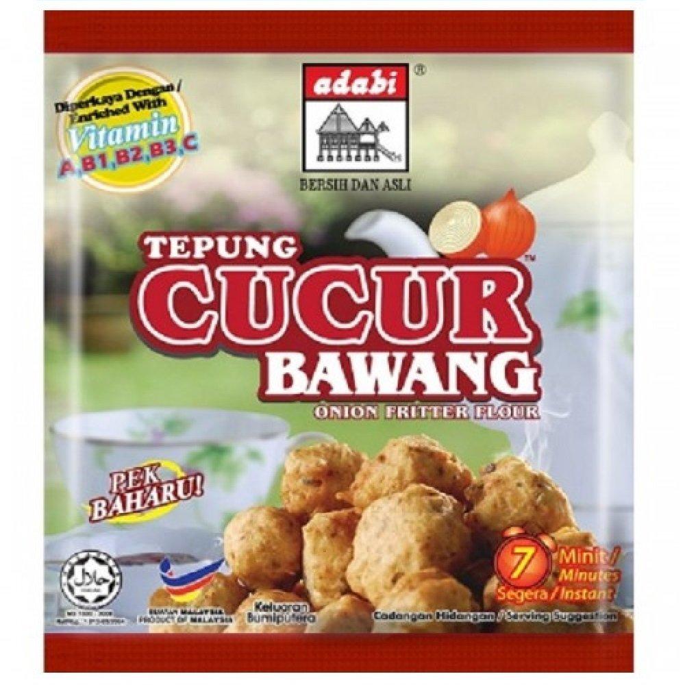 Adabi Tepung Cucur Bawang Onion Fritter Flour 200g (628MART) (6 Pack) by Adabi (Image #1)