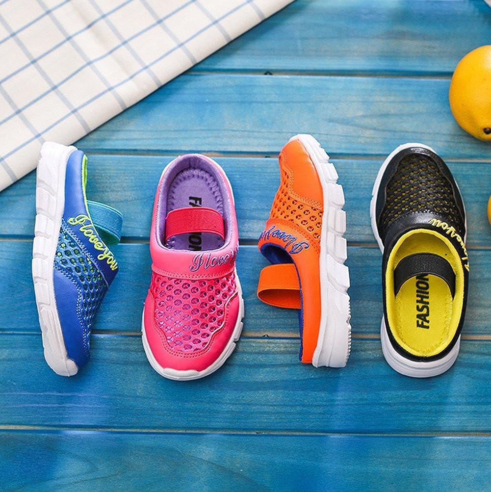 Kinder Walking Hausschuhe Jungen M/ädchen Clogs Garten Schuhe Sommer Strand Geschlossene Sandalen Kinderschuhe Atmungsaktiv Sports Outdoor Trekking-Sandale