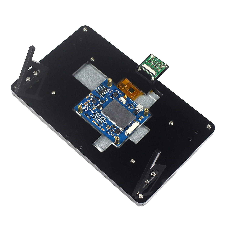 Amazon.com: Funda para Raspberry Pi de pantalla táctil ...