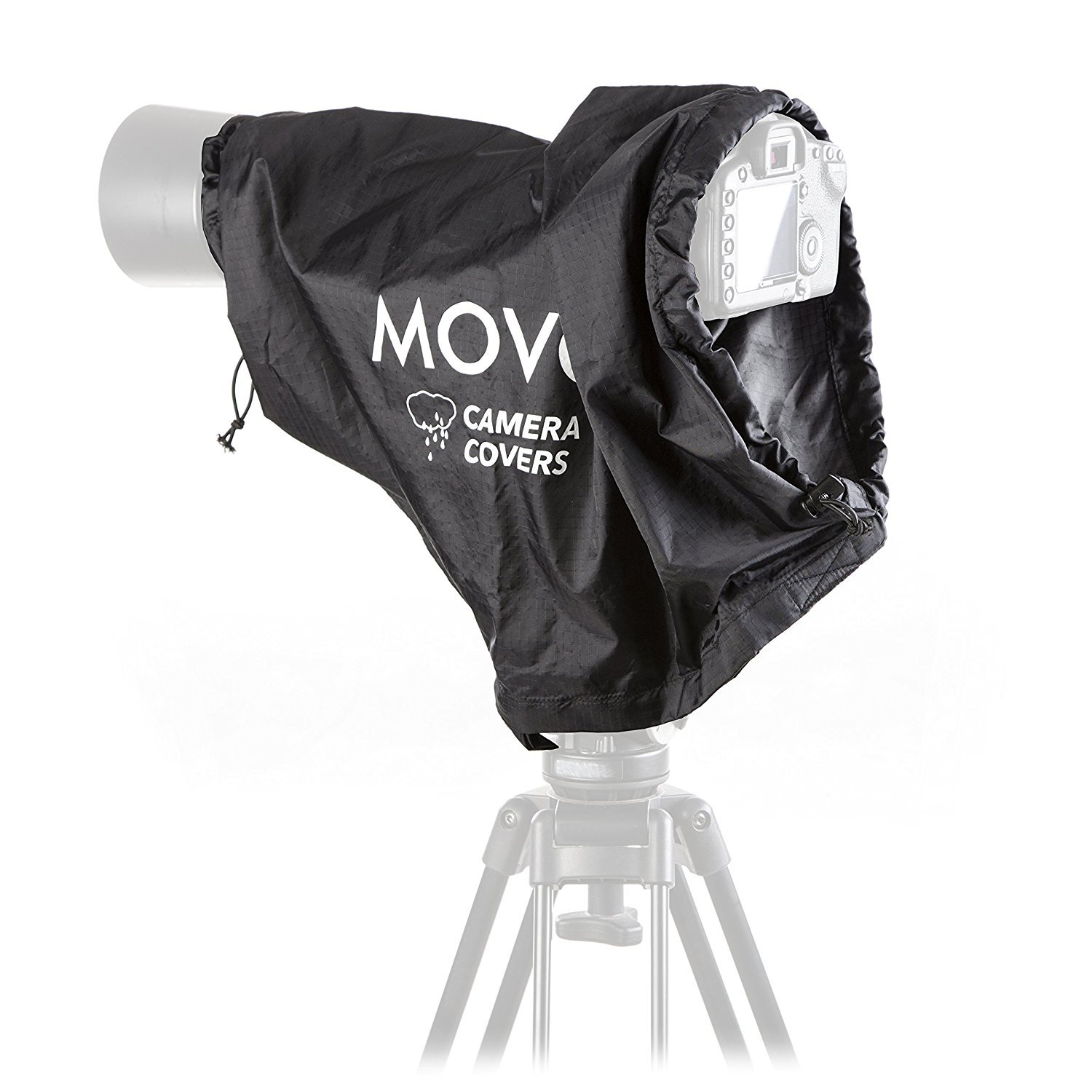 Movo CRC23 Storm Raincover Protector for DSLR Cameras, Lenses, Photographic Equipment (Medium Size: 23 x 14.5) by Movo