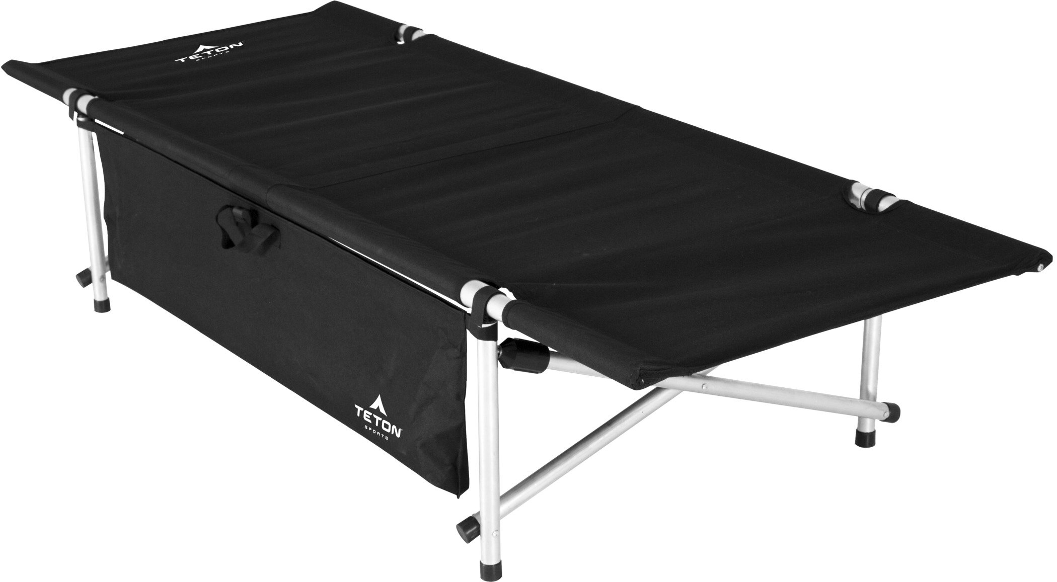 TETON Sports Somnia Lightweight Camp Cot; Camping Cots for Adults; Folding Cot Bed; Easy Set Up; Storage Bag Included by TETON Sports