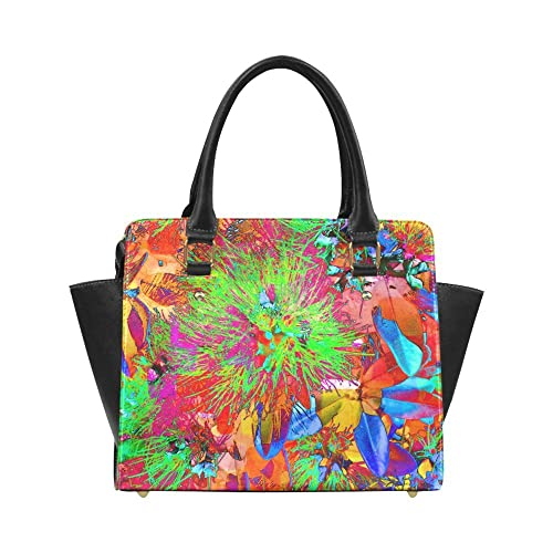34d53294029c Image Unavailable. Image not available for. Color  Interestprint Custom  Pohutukawa NZ Bloom- Pop ART Classic Women Top ...