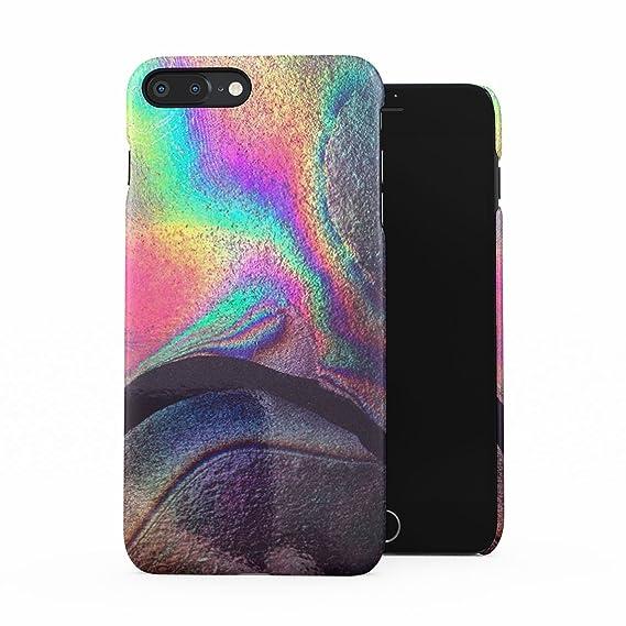 Finest Amazon.com: Rainbow Hippie Holographic Print Pastel Acid Trippy  NX96