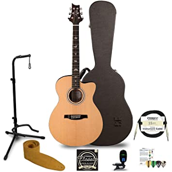 GoDpsMusic jb-prs-a10ebk-kit-1 PRS SE Angelus negro guitarra eléctrica