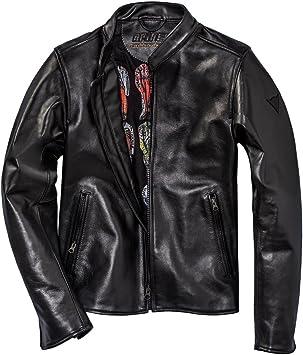 Dainese 1533806_001_54 Nera 72 Chaqueta de Cuero, Negro, Talla 54: Amazon.es: Coche y moto