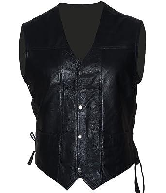 45b07a330c3 Areena Design Mens New Halloween Walking Dead Governor Daryl Dixon Angel  Wings Vest Jacket (Black