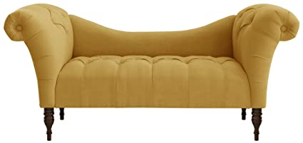 detail lounge upholstered buy french linen chaise product
