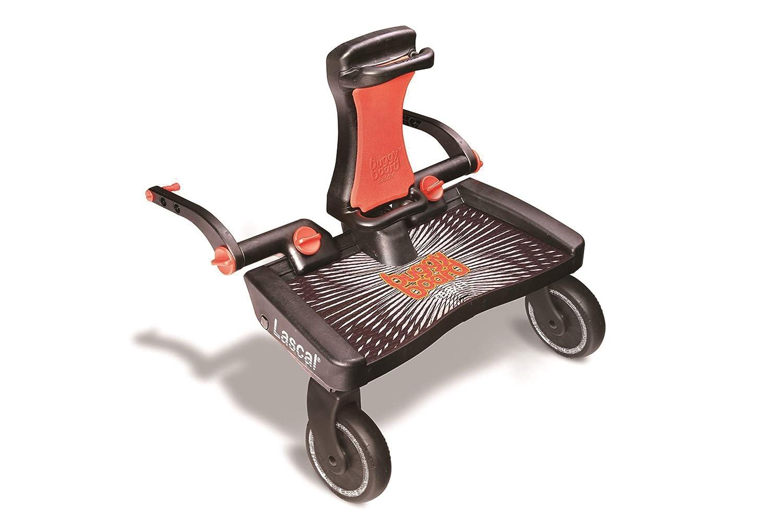 Lascal Buggy Board Maxi + Black/Red - Plataforma para carrito