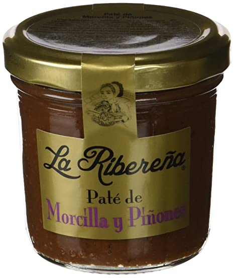 La Fragua Paté de Morcilla y Piñones - 100 gr