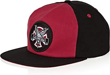 Cap Independent Thrasher Pentagram Cross Black Men